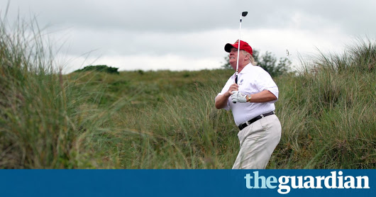 Activist 'upset' that Trump staff secretly photographed her urinating | UK news | The Guardian